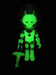 Outer Space Men Cosmic Radiation Alpha 7 Action Figure