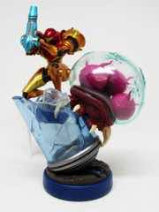 Nintendo Metroid Samus Aran and Metroid Amiibo