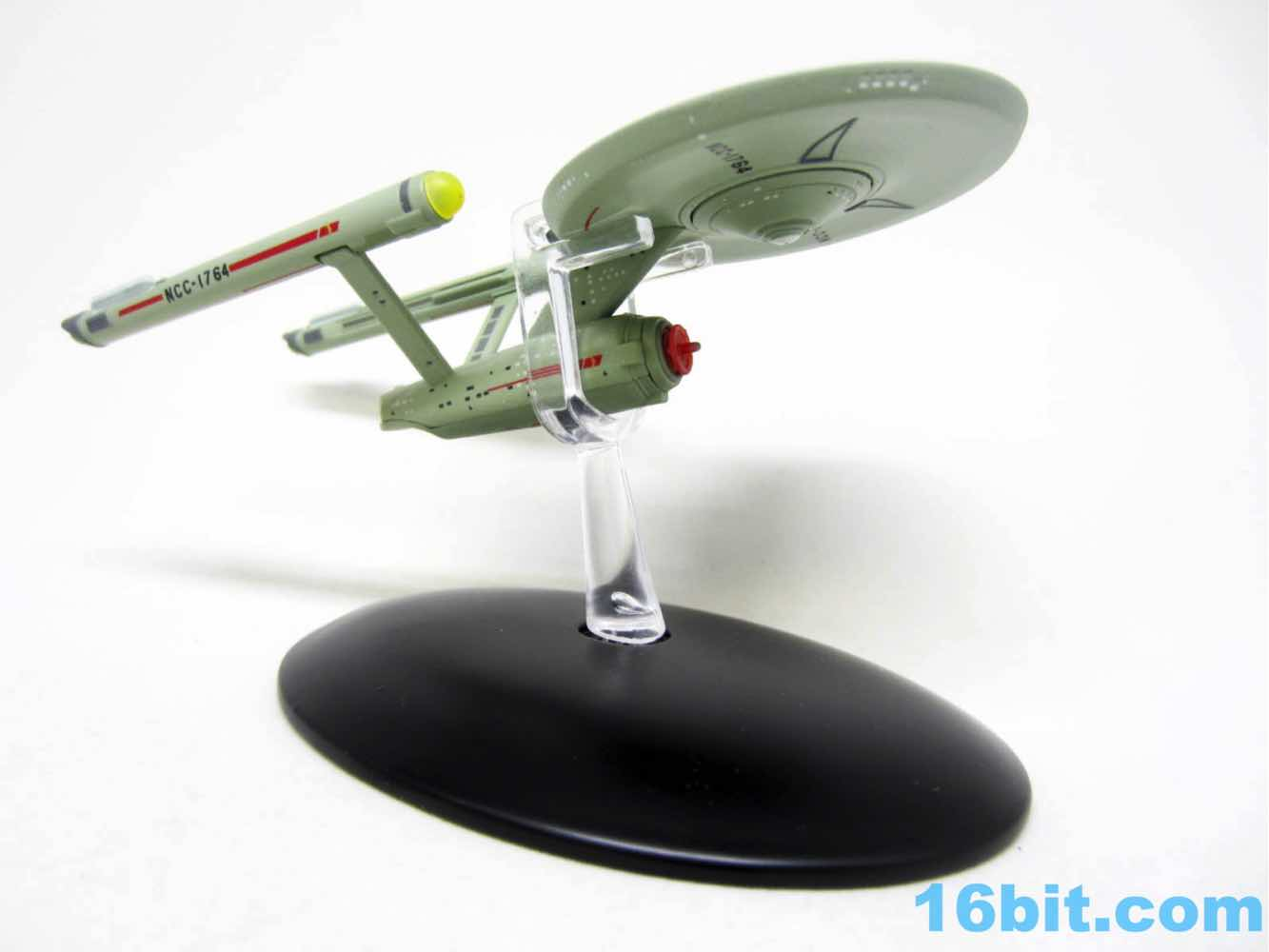 Star Trek Eaglemoss USS Defiant NCC-1764 Glow-In-The-Dark Special Edition