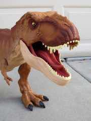 Mattel Jurassic World Super Colossal Tyrannosaurus Rex Action Figure