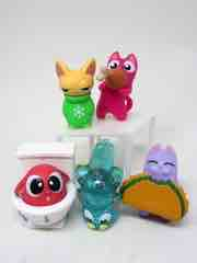 Hasbro Lost Kitties Multipack 02 Tummy Tum, Chomp, Flakes, Flush, and Boops Action Figures
