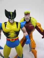 Toy Biz X-Men Steel Mutants Wolverine vs. Sabretooth