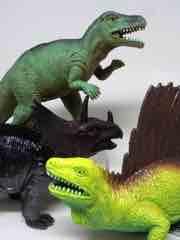 Boley Nature World Edaphosaurus, Allosaurus, Styracosaurus Action Figures
