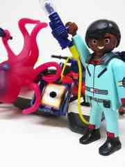 Playmobil The Real Ghostbusters 9387 Zeddemore with Aqua Scooter