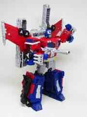 Transformers Generations War for Cybertron Siege Galaxy Upgrade Optimus Prime Action Figure