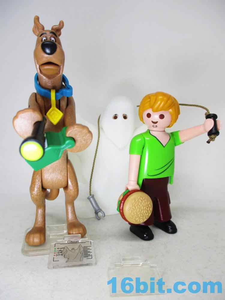 Scooby and Shaggy with Ghost Playmobil 70287 SCOOBY-DOO