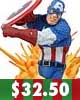 Marvel Universe Civil War Captain America Bust