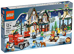10222 Winter Village Post Office