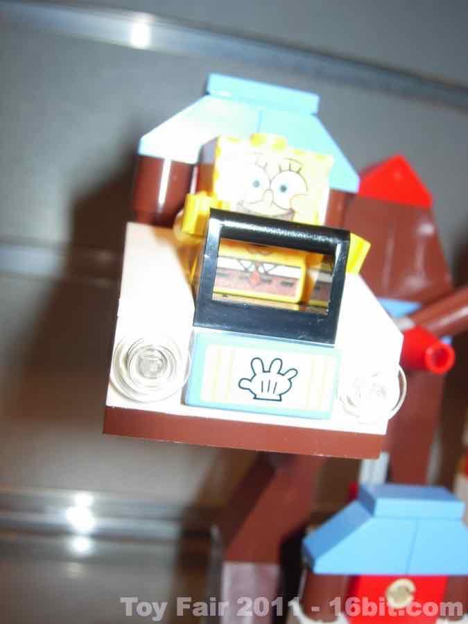16bit Com Toy Fair Coverage Of Lego Spongebob Squarepants