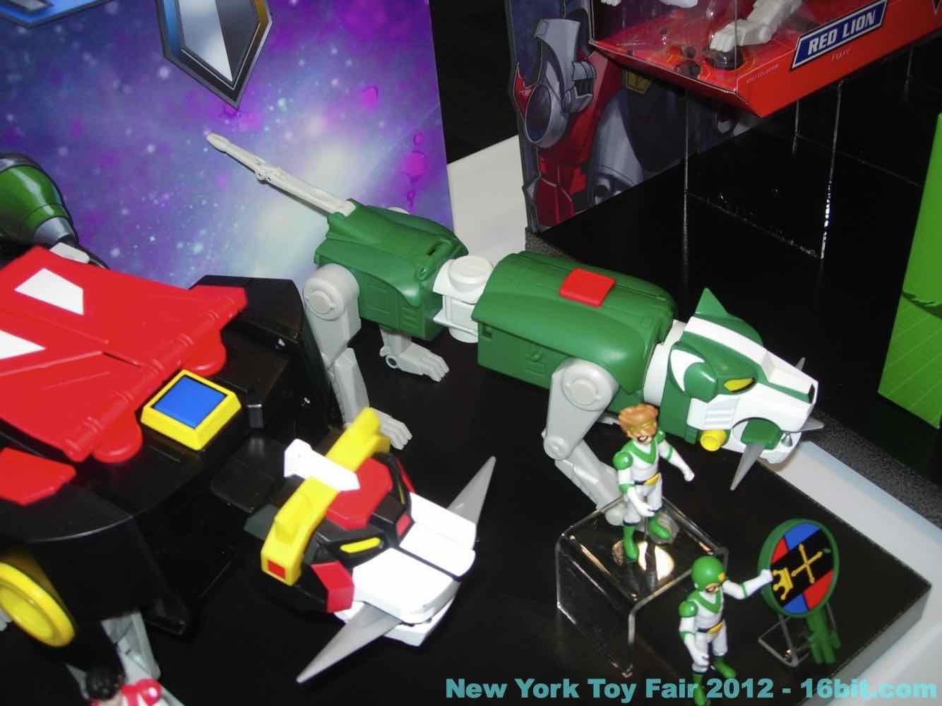 16bit Com Toy Fair Coverage Of Mattel Voltron Action