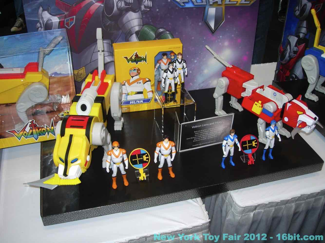 16bit Com Toy Fair Coverage Of Mattel Voltron Action
