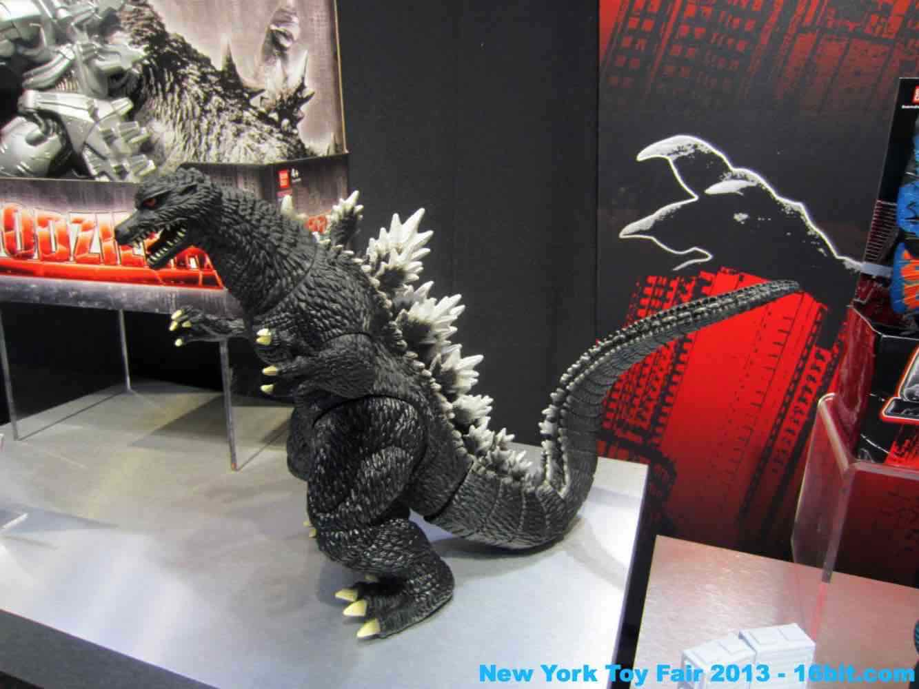 16bit Com Toy Fair Coverage Of Godzilla Action Figures