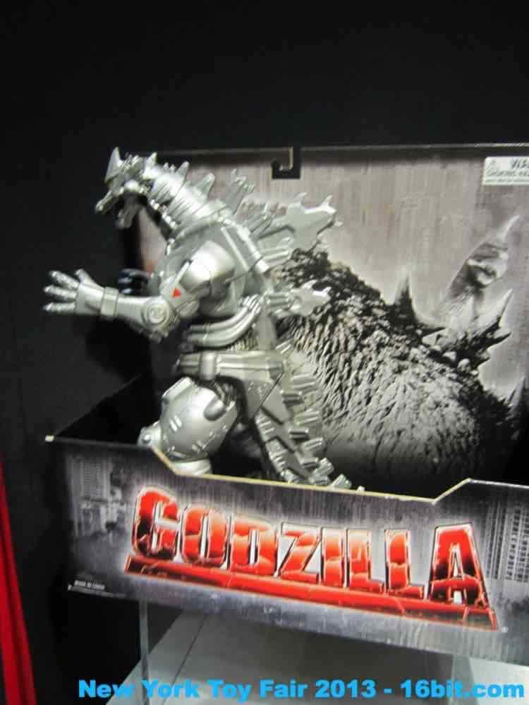 16bit Com Toy Fair Coverage Of Godzilla Action Figures