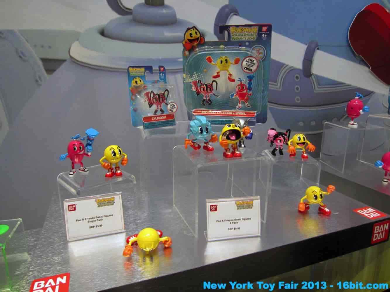 16bit Com Toy Fair Coverage Of Bandai Pac Man Action