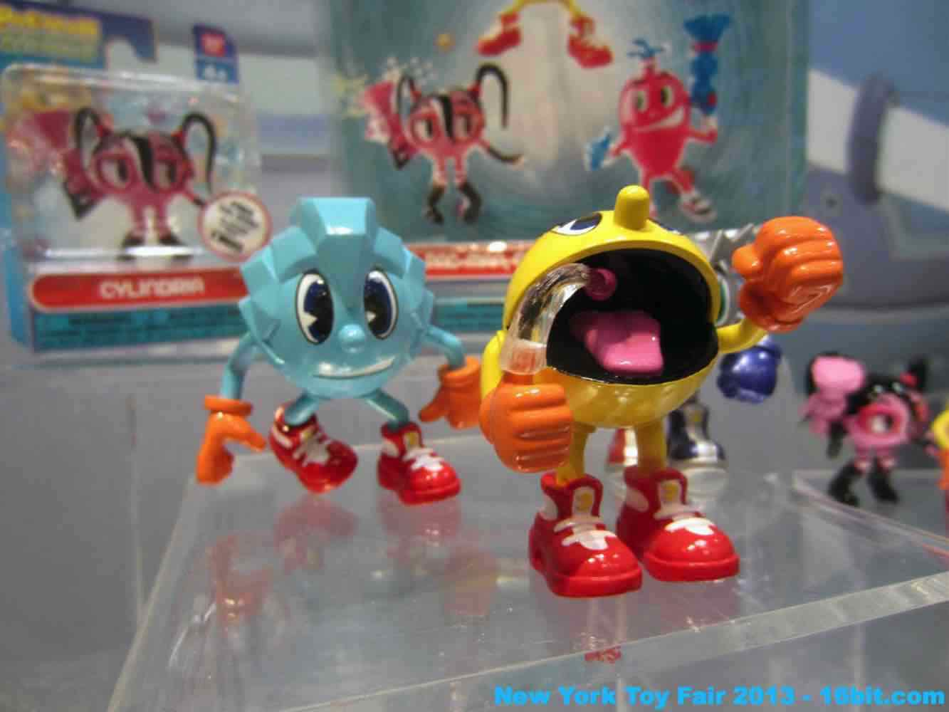 16bit Com Toy Fair Coverage Of Bandai Pac Man Action