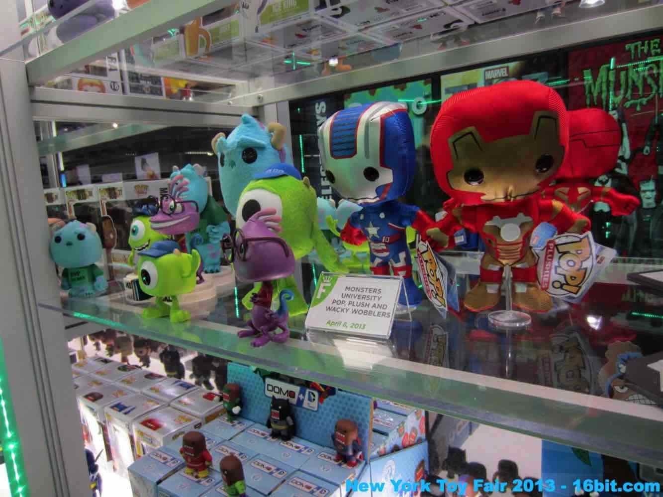 16bit Com Toy Fair Coverage Of Funko Vinyl Figures Toys