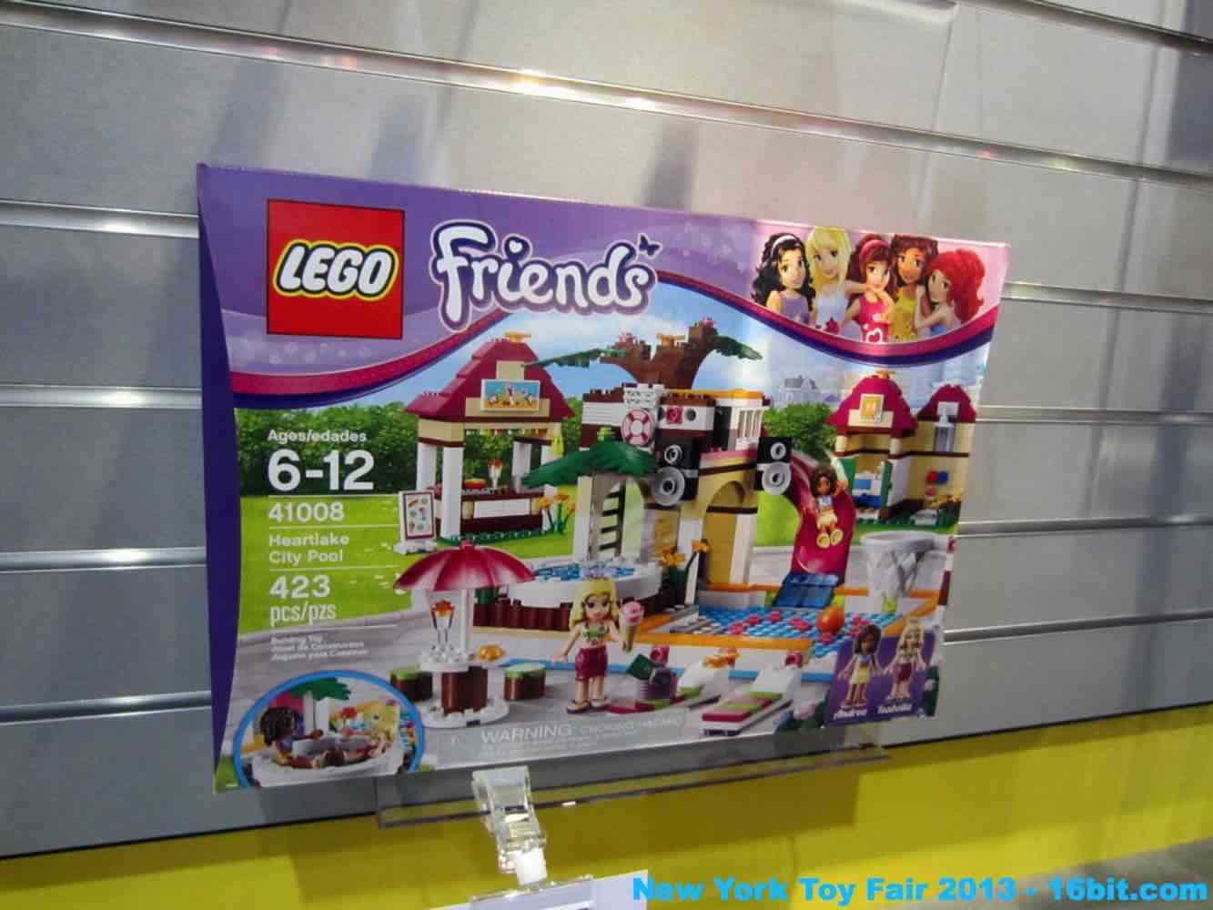 16bit Com Toy Fair Coverage Of Lego Friends From Adam Pawlus