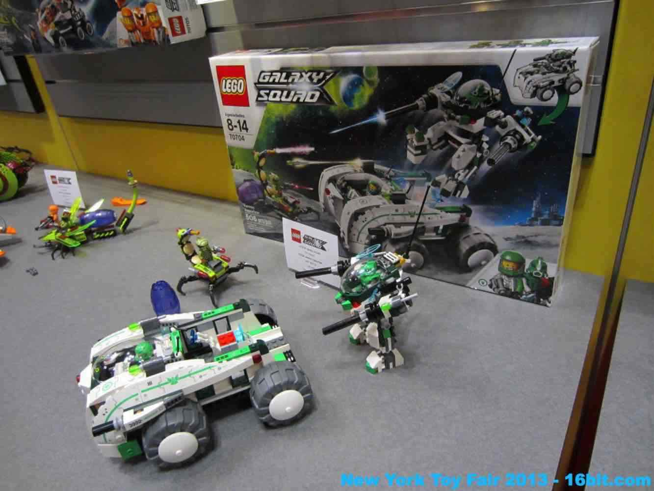 16bit Com Toy Fair Coverage Of Lego Galaxy Squad From