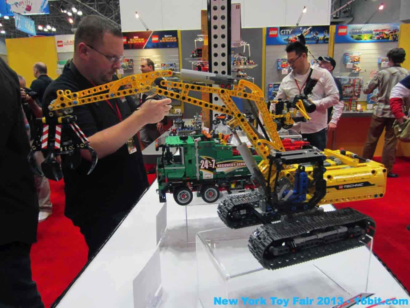 16bit Com Toy Fair Coverage Of Lego Technic From Adam Pawlus
