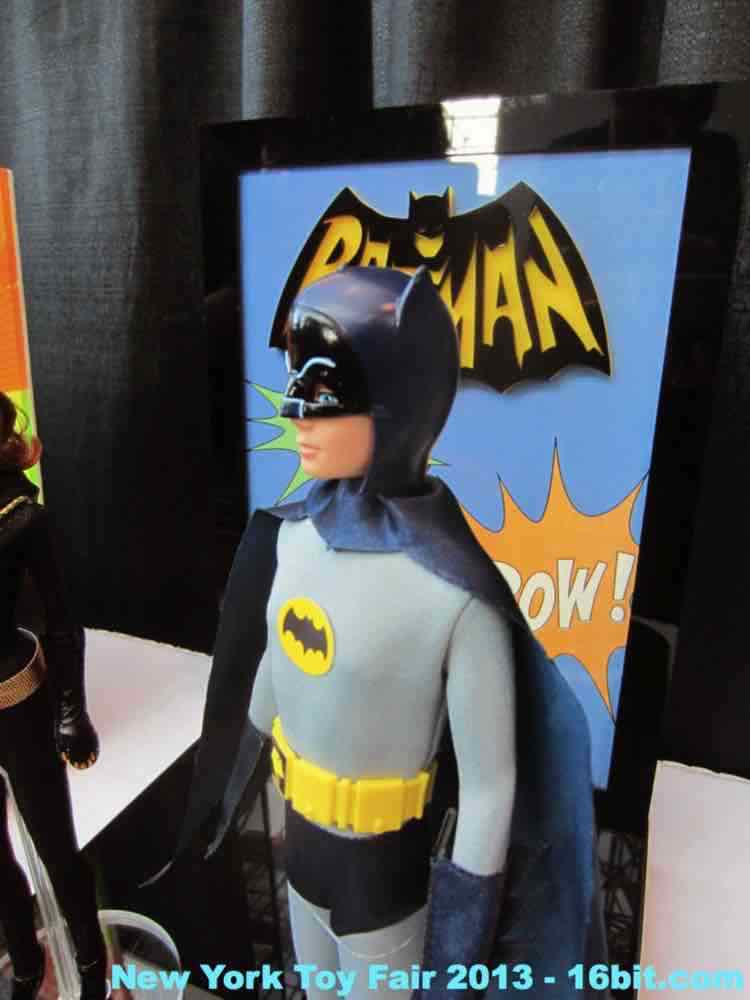 16bit Com Toy Fair Coverage Of Mattel Batman Adam West