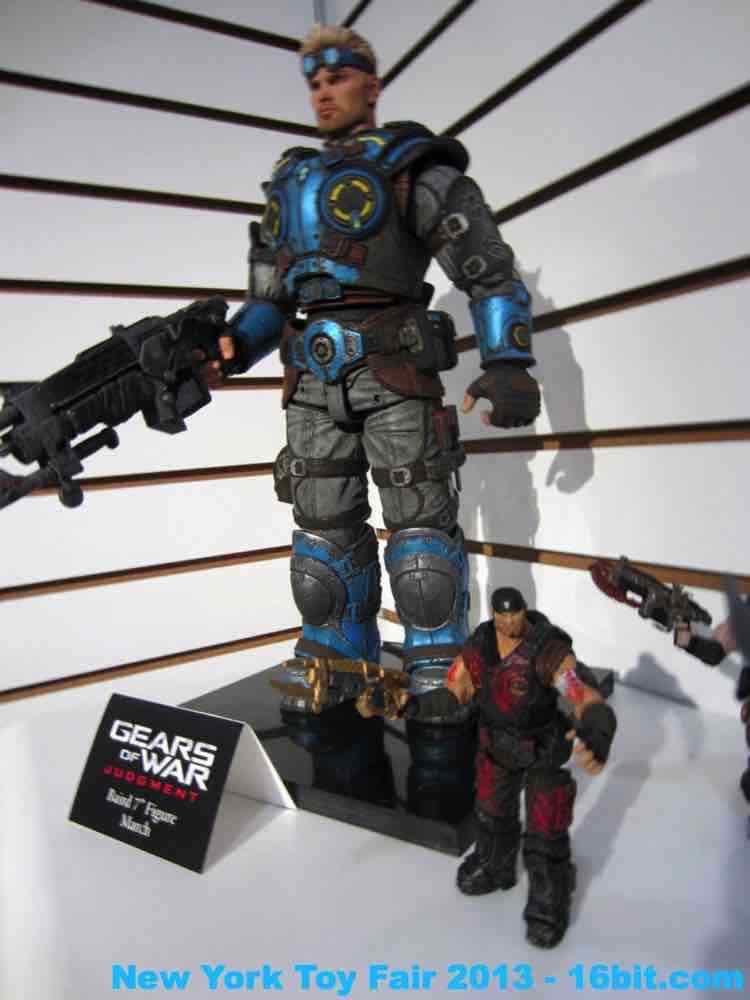 16bit Com Toy Fair Coverage Of Neca Gears Of War And