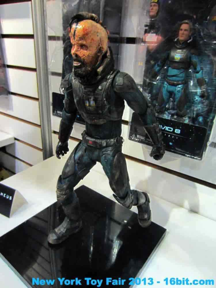 16bit Com Toy Fair Coverage Of Prometheus Action Figures
