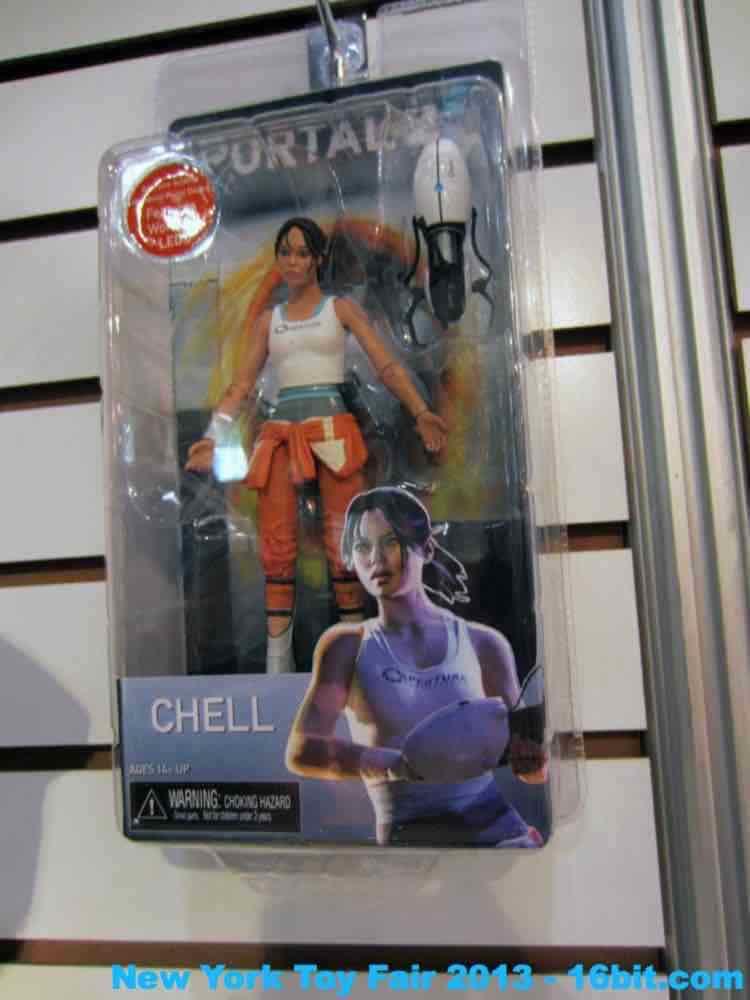 16bit Com Toy Fair Coverage Of Neca Valve Action Figures