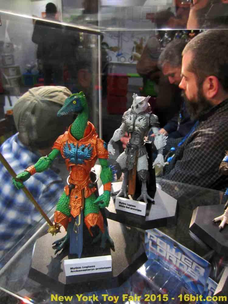 16bit Com Toy Fair Coverage Of Four Horsemen Mythic