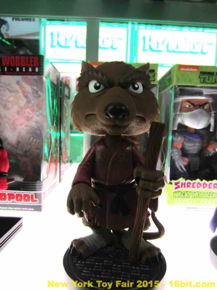 16bit Com Toy Fair Coverage Of Funko Wacky Wobblers And