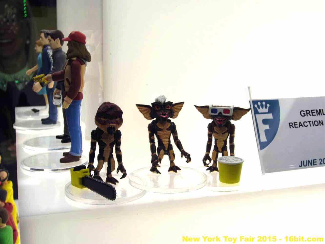 16bit Com Toy Fair Coverage Of Funko Reaction Figures