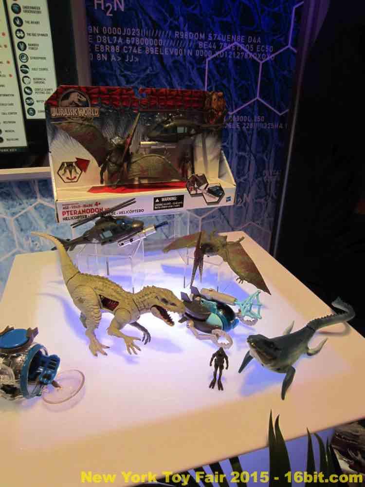 16bit Com Toy Fair Coverage Of Hasbro Jurassic World Toys
