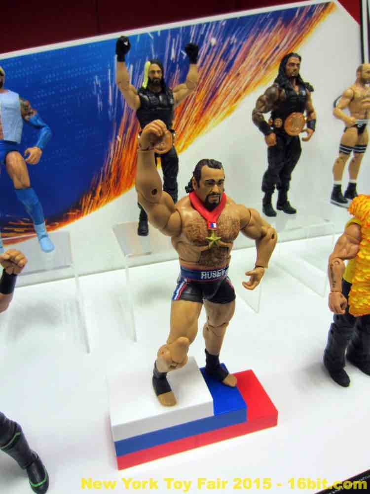 16bit Com Toy Fair Coverage Of Mattel Wwe Wrestling Toys