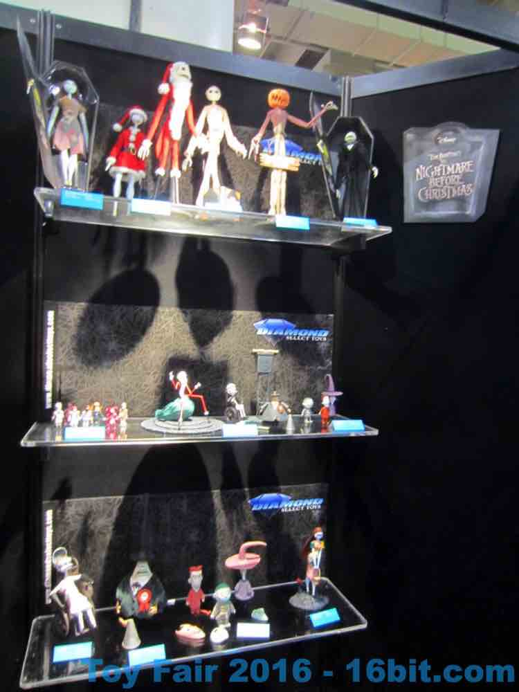 16bit.com: Toy Fair Coverage of Diamond Select Toys The Nightmare ...