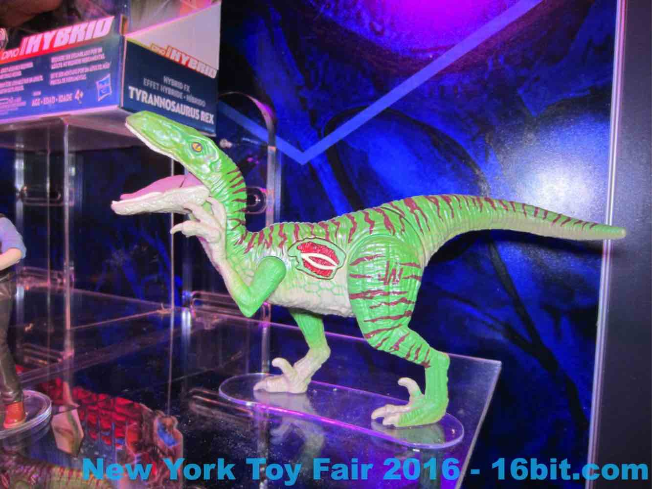 16bit com: Toy Fair Coverage of Hasbro Jurassic World Toys