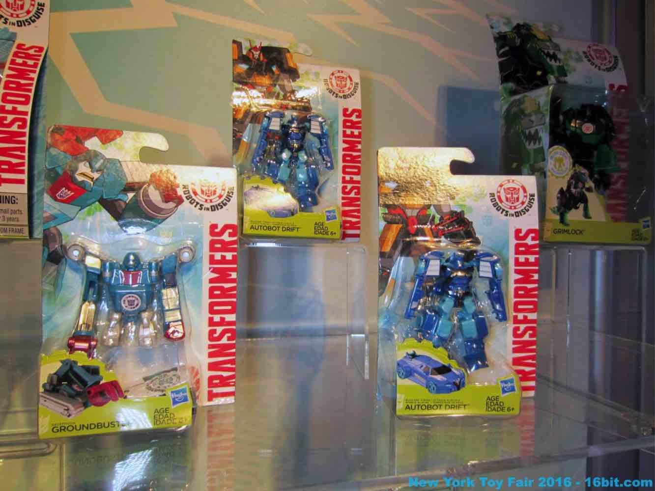 16bit Toy Fair Coverage of Hasbro Transformers Robots in
