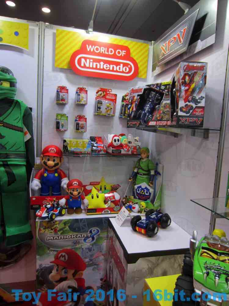 16bit.com: Toy Fair Coverage Of Jakks Pacific World Of