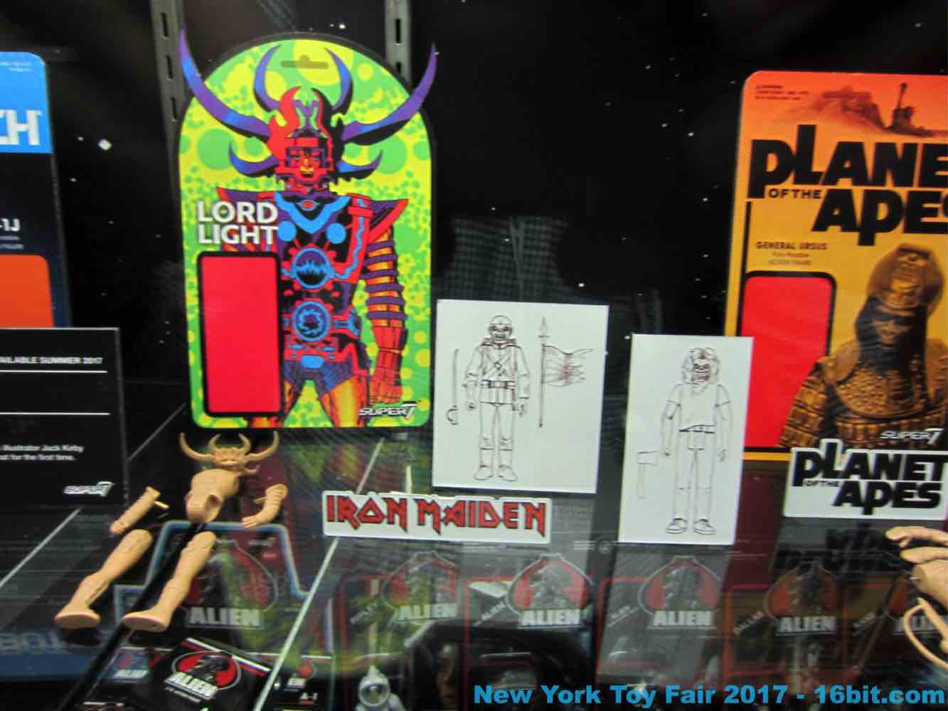 16bit Com Toy Fair Coverage Of Super 7 Reaction Toys From