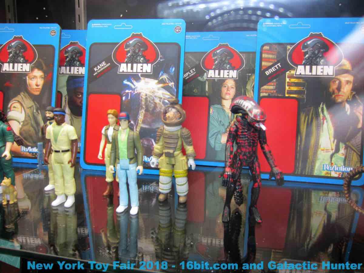 16bit Com Toy Fair Coverage Of Super7 Reaction Figures