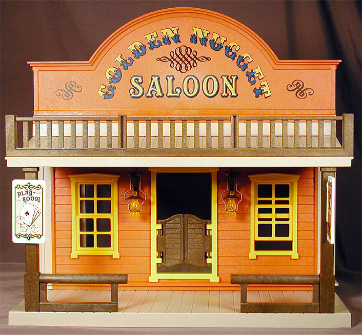 16bit Toy Archive Golden Nugget Saloon From Playmobil 1994
